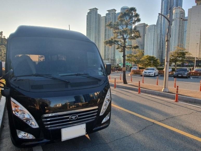 레스타리무진 미니버스 15인승렌트 기사포함대절 공무 및 연수 관광일정